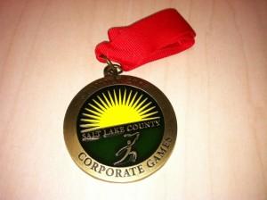 Jorgenson Industrial Companies medal